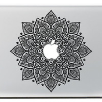 Floral Leaves mac decals macbook sticker ma cover macbook Pro/Air/ipad sticker laptop decal macbook decals sticker Avery /apple