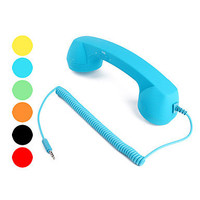 Retro Telephone Handset for Apple iPhone 4/4S (Blue)