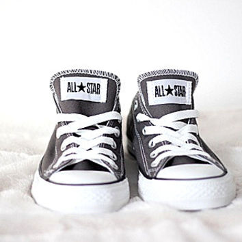 Converse All Star Sneakers canvas shoes for Unisex sports shoes Low-top black