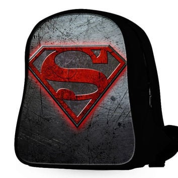 Superman Logo Backpack
