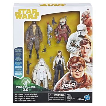 Mission on Vandor-1 Force Link 2.0 Solo A Star Wars Story 3.75 Inch Battle Pack