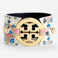 Tory Burch Print Leather Bracelet | Nordstrom