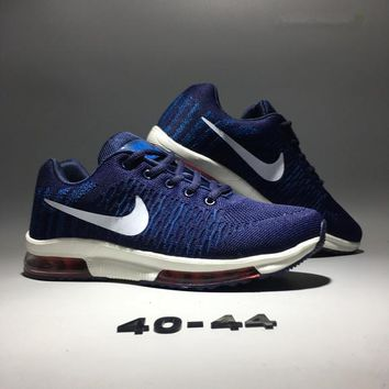 """Nike Air Zoom"" Fashion Sport Casual Knit Air Cushion Sneakers Men Running Shoes"