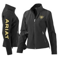 Ariat Team Black Softshell Jacket for Women - The Tack Room , Inc.