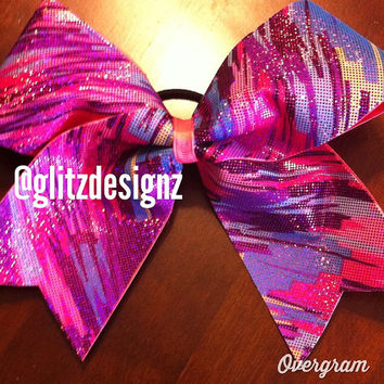 BIG Texas size CHEER Competition/Practice/Game Bow