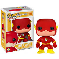 Funko POP! Heroes - Vinyl Figure - THE FLASH (4 inch) (Pre-Order ships June): BBToyStore.com - Toys, Plush, Trading Cards, Action Figures & Games online retail store shop sale