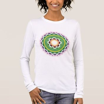 Bella+Canvas Long Sleeve Sacred Geometry Long Sleeve T-Shirt
