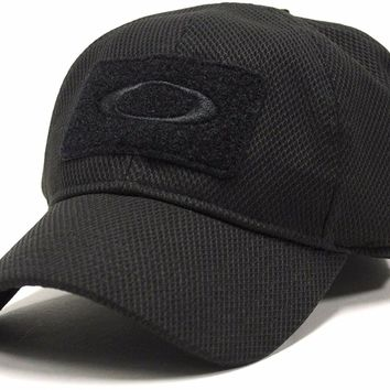 Oakley Men's SI Standard Issue Special Forces Tactical Fitted Hat Cap - Black