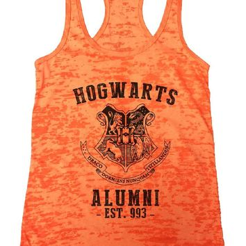 HOGWARTS ALUMNI - EST. 993 - Burnout Tank Top By Womens Tank Tops