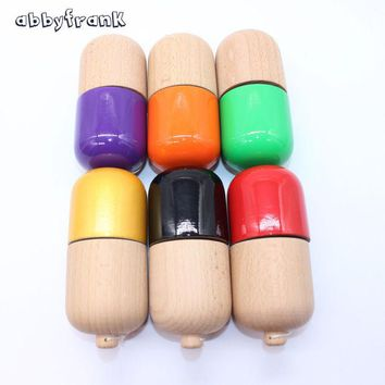 DCCKL3Z Abbyfrank Professional Pill Kendama Ball Natural Wooden Japanese Traditional Toy Ball Game Juggling For All-age Gift