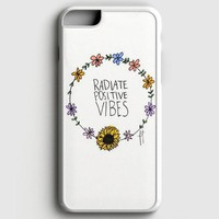 Radiate Positive Vibes iPhone 8 Case