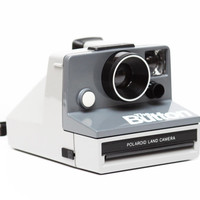Polaroid The Button SX-70 Instant Film Camera Made in USA Fully Operational