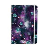 "Fernanda Sternieri ""Fairy Tale"" Purple Floral Everything Notebook"