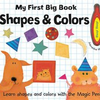 Usborne Books & More. My First Big Book, Shapes and Colors