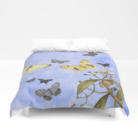 Let us dance in the sun Duvet Cover by anipani