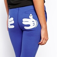 Zoe Karssen Sweatpants With Mickey Hands