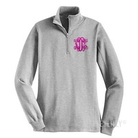 Monogrammed Pullover Sweatshirt | Marley Lilly