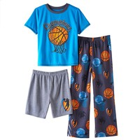 Basketball 3-pc. Pajama Set - Boys 4-12, Size: