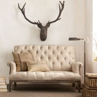 Deconstructed French Victorian Settee | Sofas | Restoration Hardware
