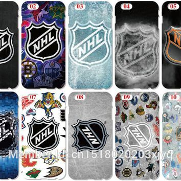 2018 NHL Hockey Team Cover For Samsung Galaxy A3 A5 A7 A8 J1 J3 J5 J7 2015 2016 Version Mobile Phone Bags Case Capa Coque Fundas