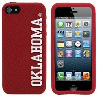 Oklahoma Sooners Silicone iPhone 5 Cover - Crimson