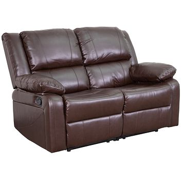 Harmony Series Loveseat with Two Built-In Recliners