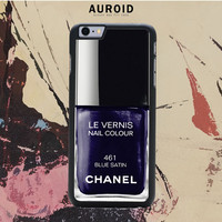 Chanel Nail Polish Blue Satin IPhone 6S Case Auroid