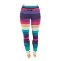 "Nika Martinez ""Surf"" Yoga Leggings"