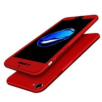 Red 360 Hardshell Thincase iPhone 7 Cases 7,7+
