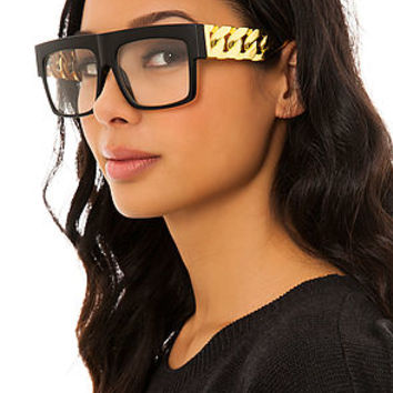 MKL Accessories Glasses Old School in Gold