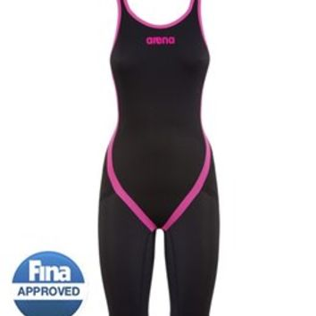 Arena Powerskin Carbon Flex Limited Edition Open Back Full Body Short Leg at SwimOutlet.com - Free Shipping