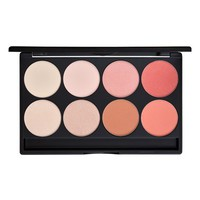 Gorgeous Cosmetics Eight-Pan Blush & Highlighter Palette - Blush/ Highlight