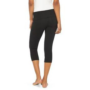 Women's Yoga Capri Black XS - Mossimo Supply Co.™ (Juniors') : Target