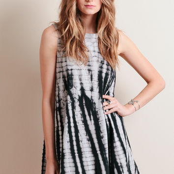 Twisted Vision Tie-Dye Dress