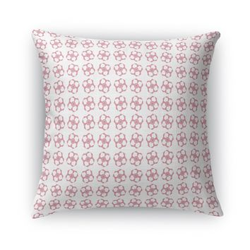 GEOMETRIC FLOWER Accent Pillow By Heidi Miller