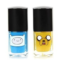 Adventure Time Finn & Jake Nail Polish 2 Pack - 158627