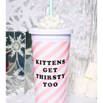 Thirsty Kittens To-Go Cup | Dolls Kill