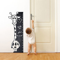 Write And Erase Giraffe Wall Sticker
