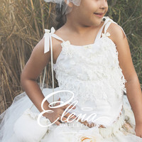 Flower girl tutu set-photography-bridal-Emanuella
