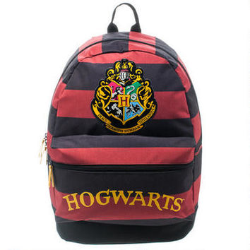 Hogwarts Striped Backpack | HarryPotterShop.com