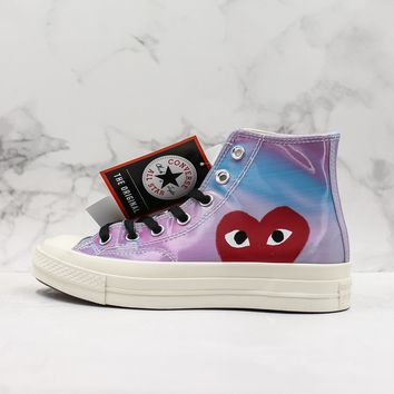 CDG Play x Converse Chuck Taylor All Star 1970s High Top Sneakers - Best Deal Online