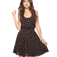 Dotted Strawberry Dress | FOREVER21 - 2015035616
