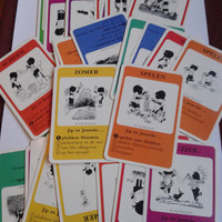 vintage Fiep westendorp Jip ja Janneke dutch Quartet card game