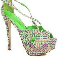 *Sole Boutique The Uprise Shoe in Lime : Karmaloop.com - Global Concrete Culture