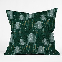 Raven Jumpo Sea Wasp Throw Pillow