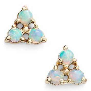 WWAKE Triangle Opal Earrings | Nordstrom