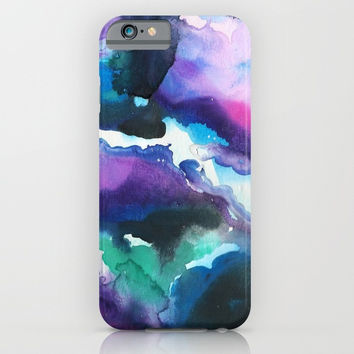 Blue Swirls Phone Case