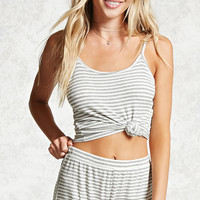 Striped Cami PJ Set