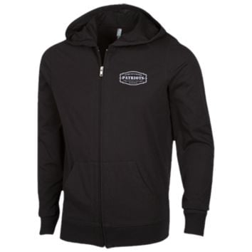 The Ultimate Fan Of The New England Patriots Lightweight Full Zip Hoodie