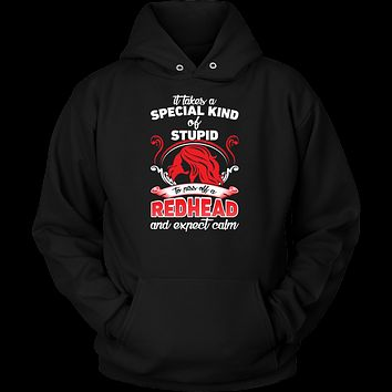 Redhead Shirts It Takes A Special Kind of Redhead Unisex Hoodie T Shirt - TL00668HO